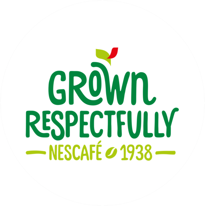 Logo, Grown Respectfully -  aus respektvollem Anbau.